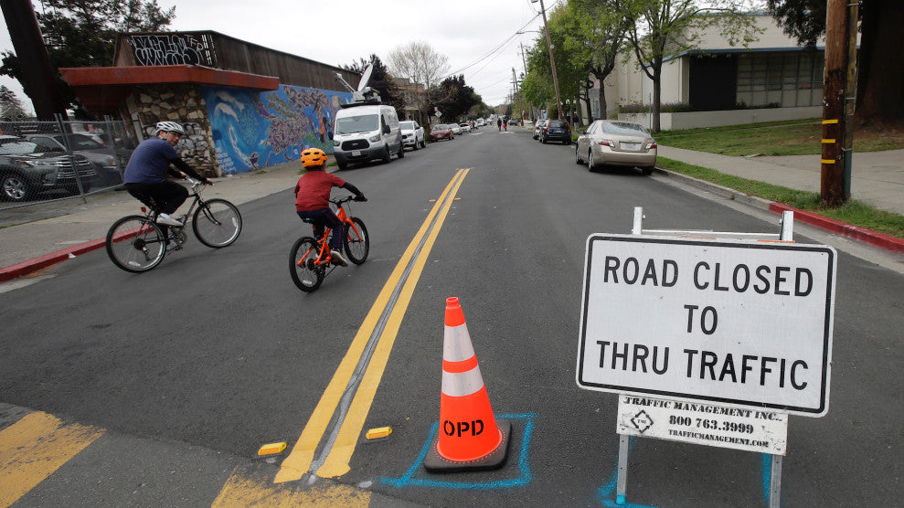 Oakland Has Closed a Bunch of Streets to Cars