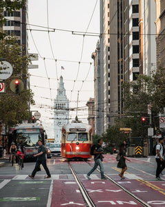 No more cars on Market Street + more topics to discuss over brunch
