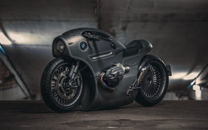 This Custom BMW Motorcycle Is a Sinister Sci-Fi Superbike