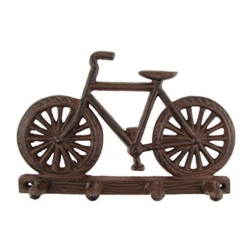 Metal Wall Mount Bicycle Hook Rack Hat/Key Hooks