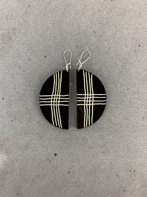 PHEBE PARISIA  XX  Earrings - Black