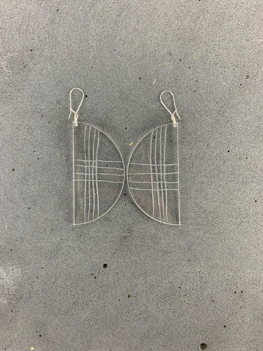 XX Earrings | Clear