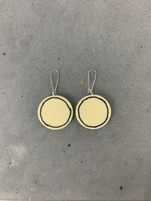 PHEBE PARISIA - Circe Earrings - Cream