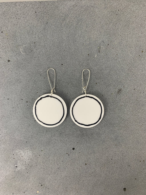 PHEBE PARISIA - Circe Earrings - White