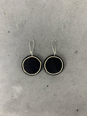PHEBE PARISIA Circe Earrings - Black