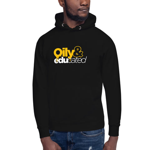 *NEW* Oily & Educated Unisex Hoodie (Multiple Colors Available)