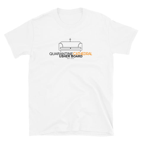 Quarantine Cathedral Usher Board Tee