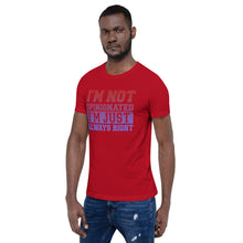 Load image into Gallery viewer, Not Opinionated Unisex Tee