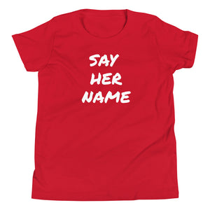 Youth Say her name