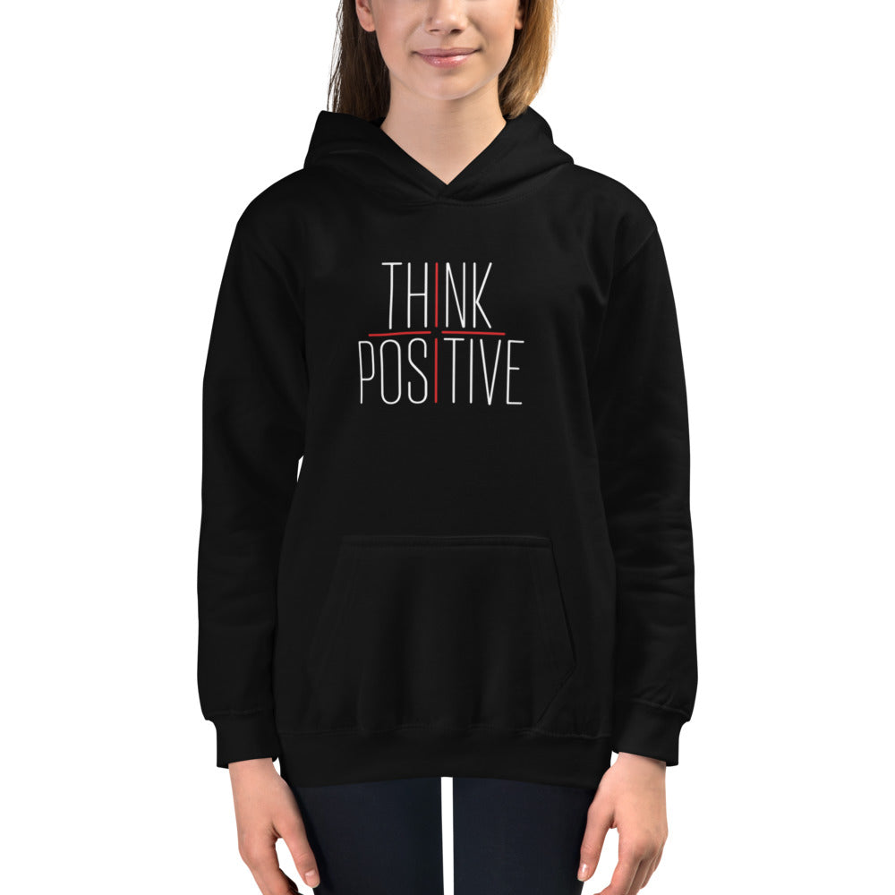 Youth Think Positive Hoodie