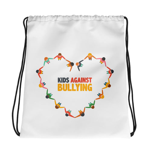 Kids Against Bullying Drawstring bag