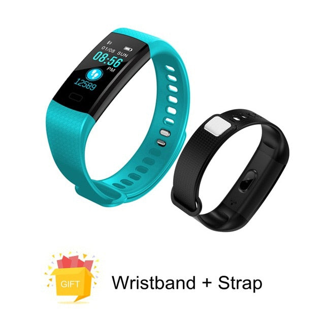 Bluetooth Smart Bracelet -  Heart Rate Monitor, Blood Pressure Measurement & Fitness Tracker