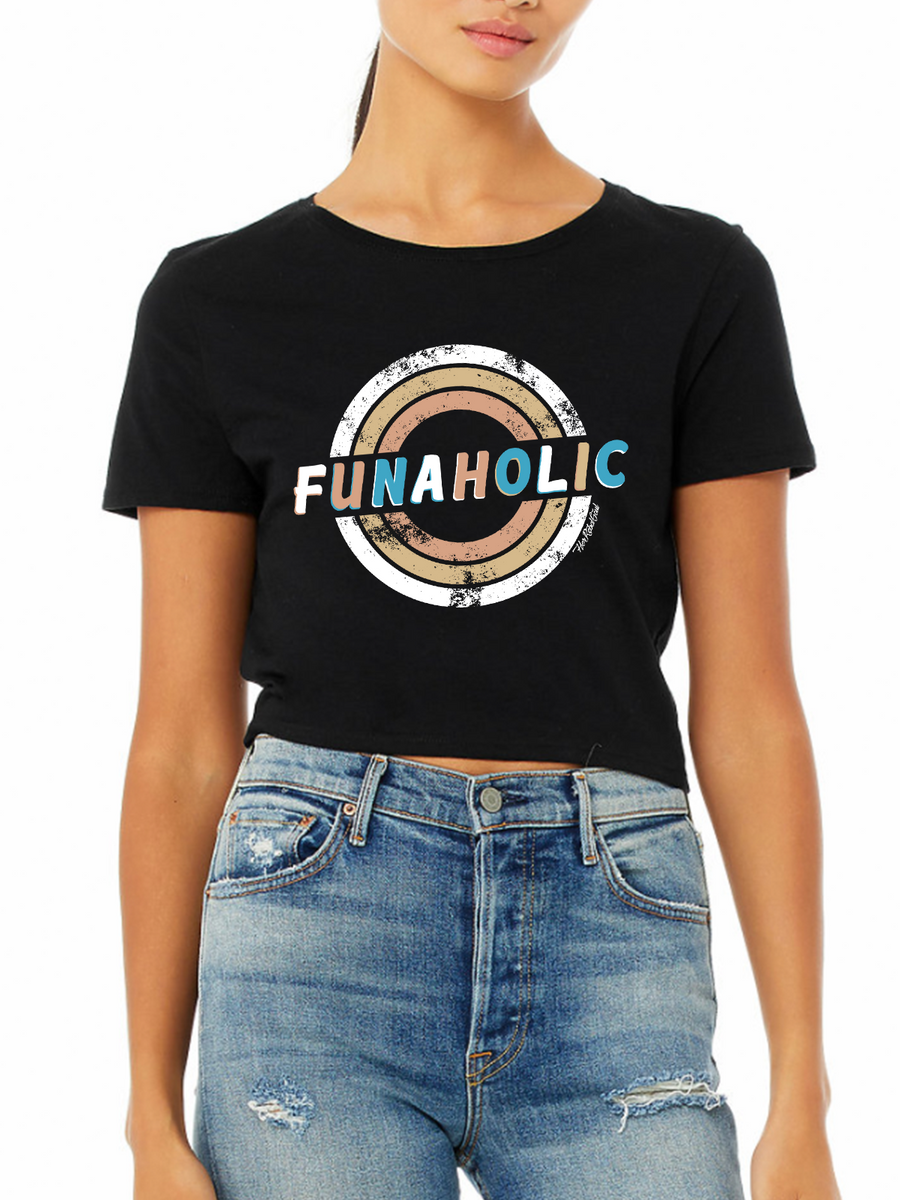 Funaholic Tight Cropped Tee