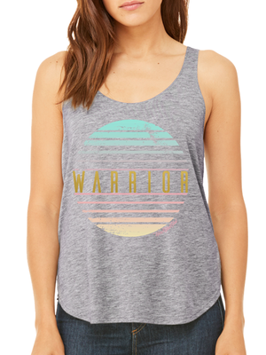 WARRIOR FLOWY SIDE SLIT TANK