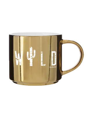 WILD METALLIC COFFEE CUP