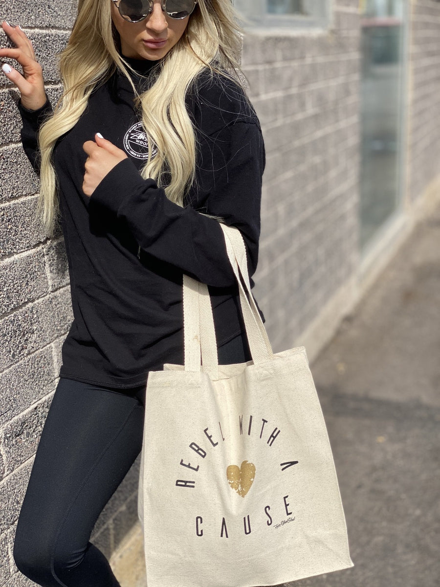 REBEL WITH A CAUSE TOTE
