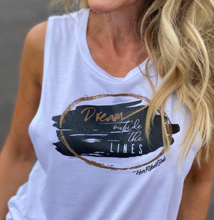 DREAM OUTSIDE THE LINES TANK