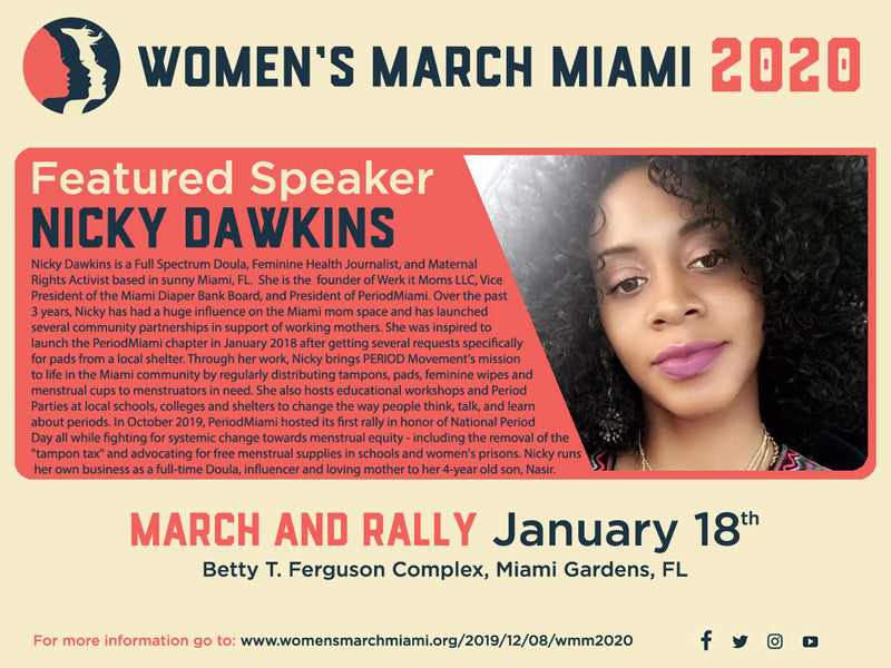 1/18/2020 Women's Rally for Reproductive Justice