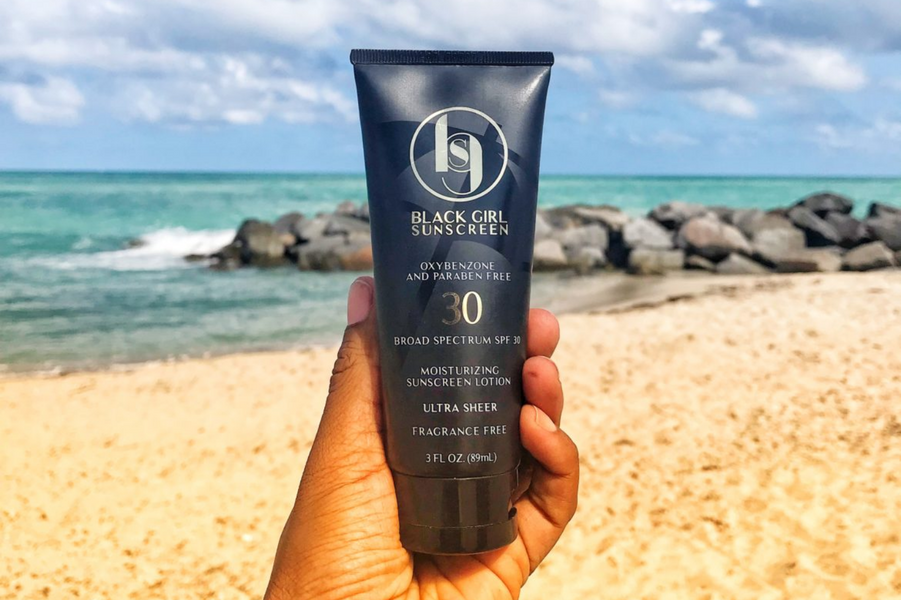 Black Girls Need Sunscreen Too - And This One Goes On Clear