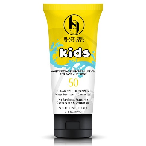 Black Girl Sunscreen Kids