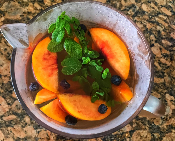 Peach Berry Iced Tea Recipe