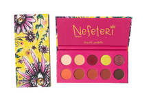 Load image into Gallery viewer, Nefeteri Earth Eye Makeup Pallet