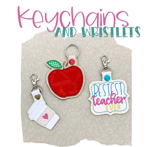 Keychains and Wristlets