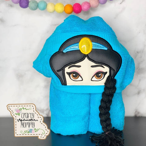 Arabian Princess Hooded Towel