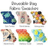 Reusable Straw and Utensil Bag