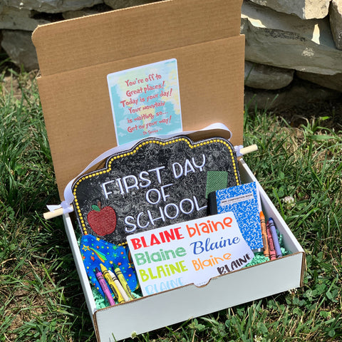 Back to School Gift Box- Shirt