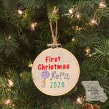 Embroidery Hoop Ornaments **PRE ORDER 6-8 Week TAT**