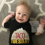 Taco Tuesday - Infant or Toddler Short-Sleeve T-Shirt