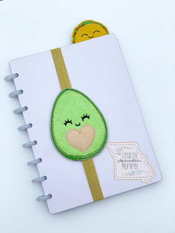 Avocado Planner Band or Bookmark