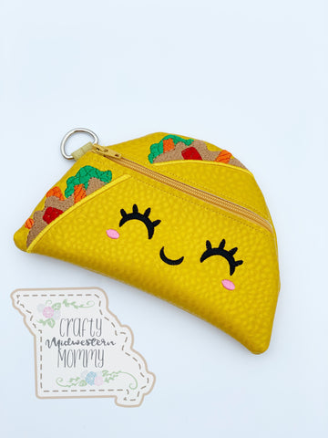 Taco Zipper Bag