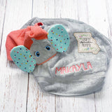 Elephant Boy or Girl Hooded Towel