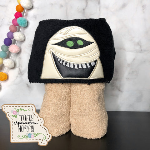Hotel Mummy Hooded Towel