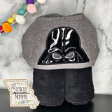 Dark One Hooded Towel