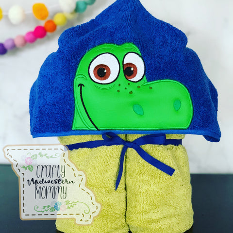 Dino Explorer/ Good Dino Hooded Towel