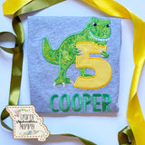 Birthday Applique - Youth Unisex Short-Sleeve T-Shirt