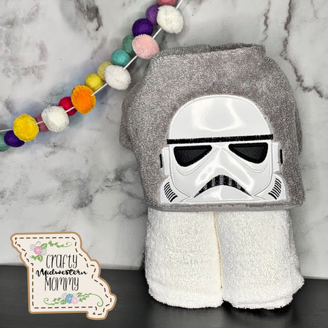 Trooper Hooded Towel