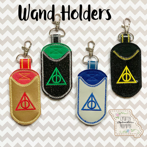 Wand Holder Keychain