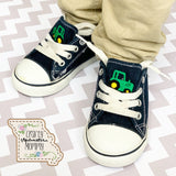 Embroidered Canvas Shoes-Toddler/Youth