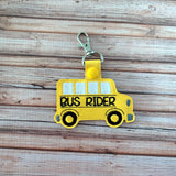 School Transportation Keychain
