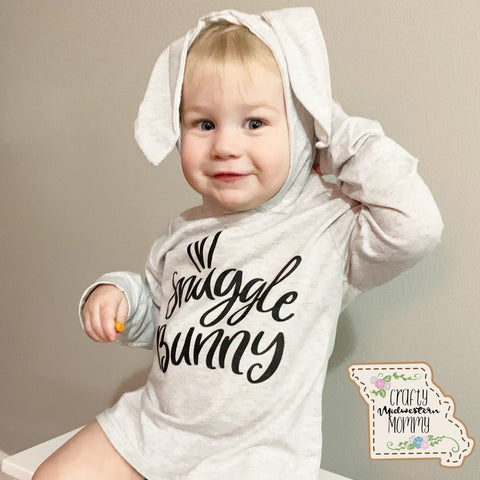 """Snuggle Bunny"" Ear Shirt"