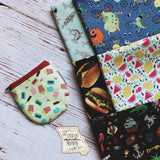 Reusable Scoop Snack Zipper Bags