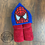 Spider Hero Hooded Towel