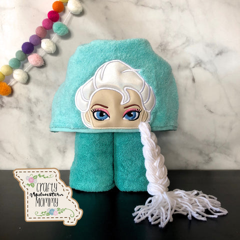 Ice Queen Hooded Towel