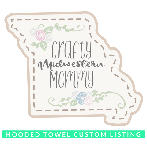 Custom Hooded Towel Order