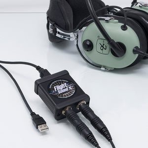 Flight Sound Solo General Aviation Headset USB Adapter