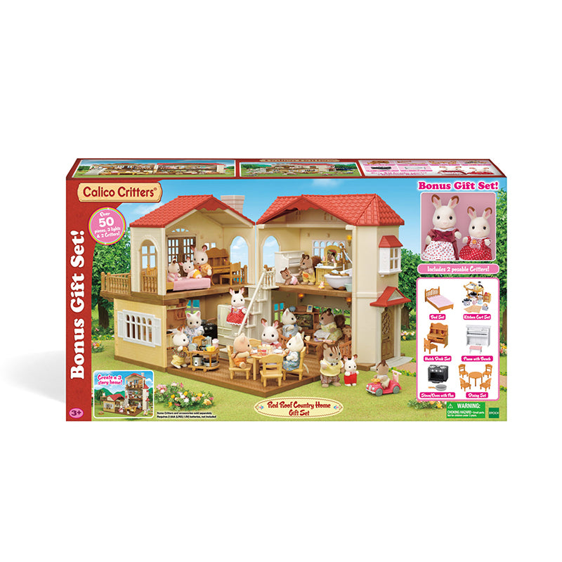 Red Roof Country Home Gift Set - Happki